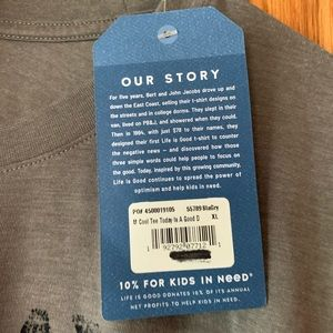 Life Is Good Shirts - Life Is Good tee NWT size XL